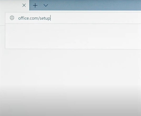 Instructions to install Office 2019 Home Student step 1.1