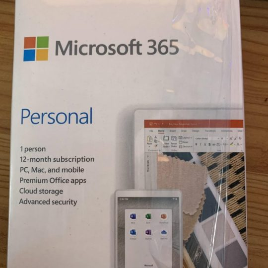 microsoft 365 personal 1 year 2