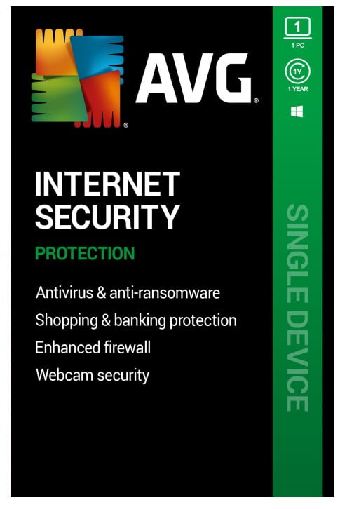 AVG Internet Security 2021 1 Device 1 Year Global
