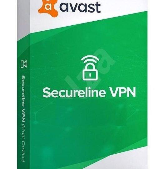 Avast SecureLine VPN 2021 1 Year 5 Devices Global