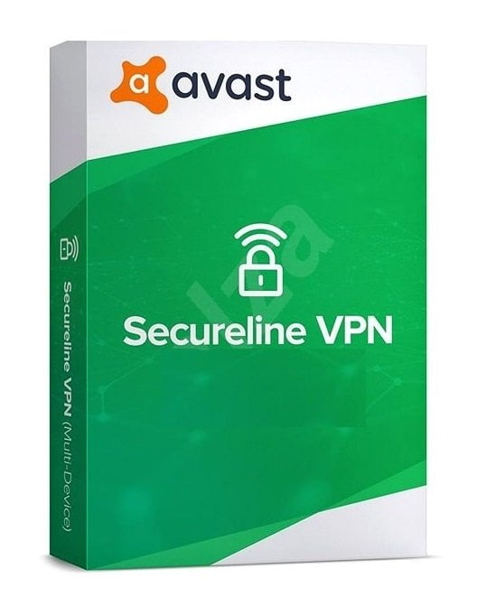 Avast SecureLine VPN 2021 2 Years 5 Devices Global