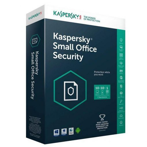 Kaspersky Small Office Security 10 PCs + 10 Mobiles + 1 Server 1 Year
