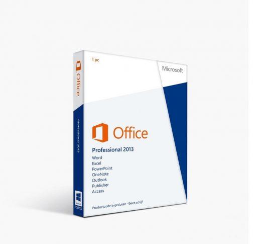 Microsoft Office Professional Plus 2013 retail CD Key Global