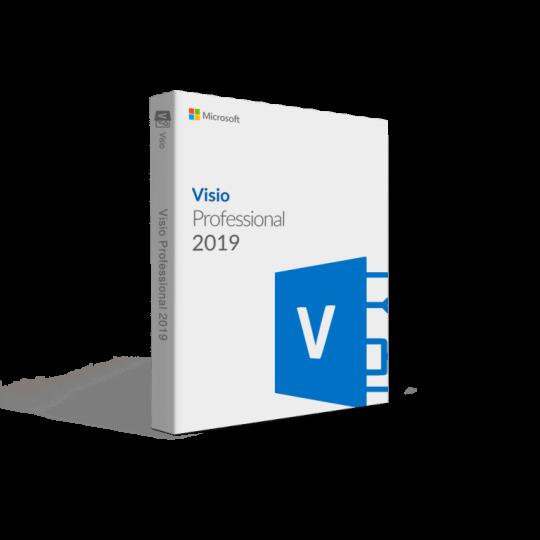 Microsoft Visio 2019 professional Key Global Bind to your Microsoft Account