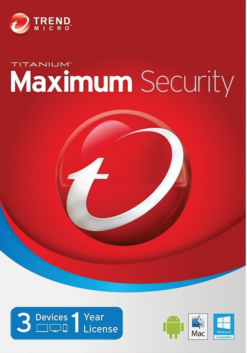 Trend Micro Maximum Security 3 Devices 1 Year key Global