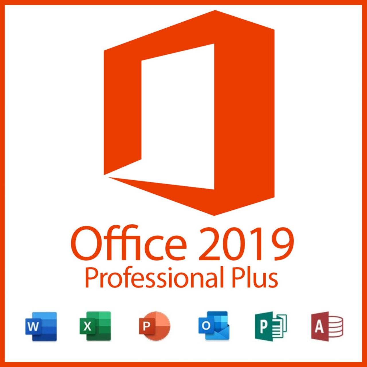 Office Professional Plus 2019 4