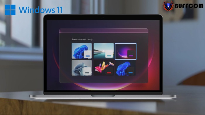 Windows 11 A new more Mac like interface